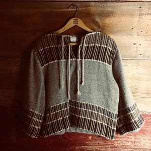 Hand woven pullover